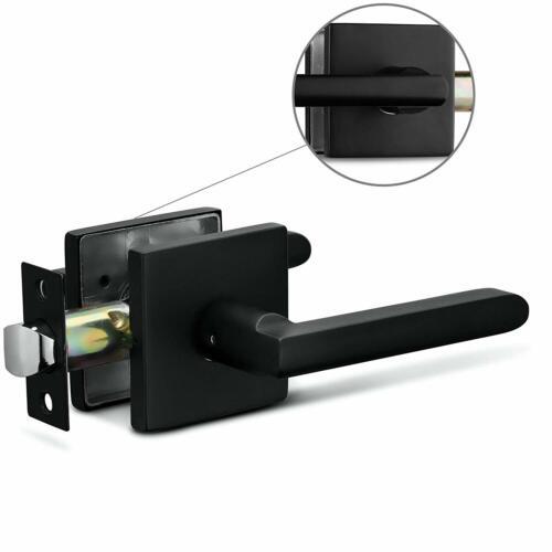 Berlin Modisch Entry Lever Door Handle And Single Cylinder Deadbolt Lock And Key