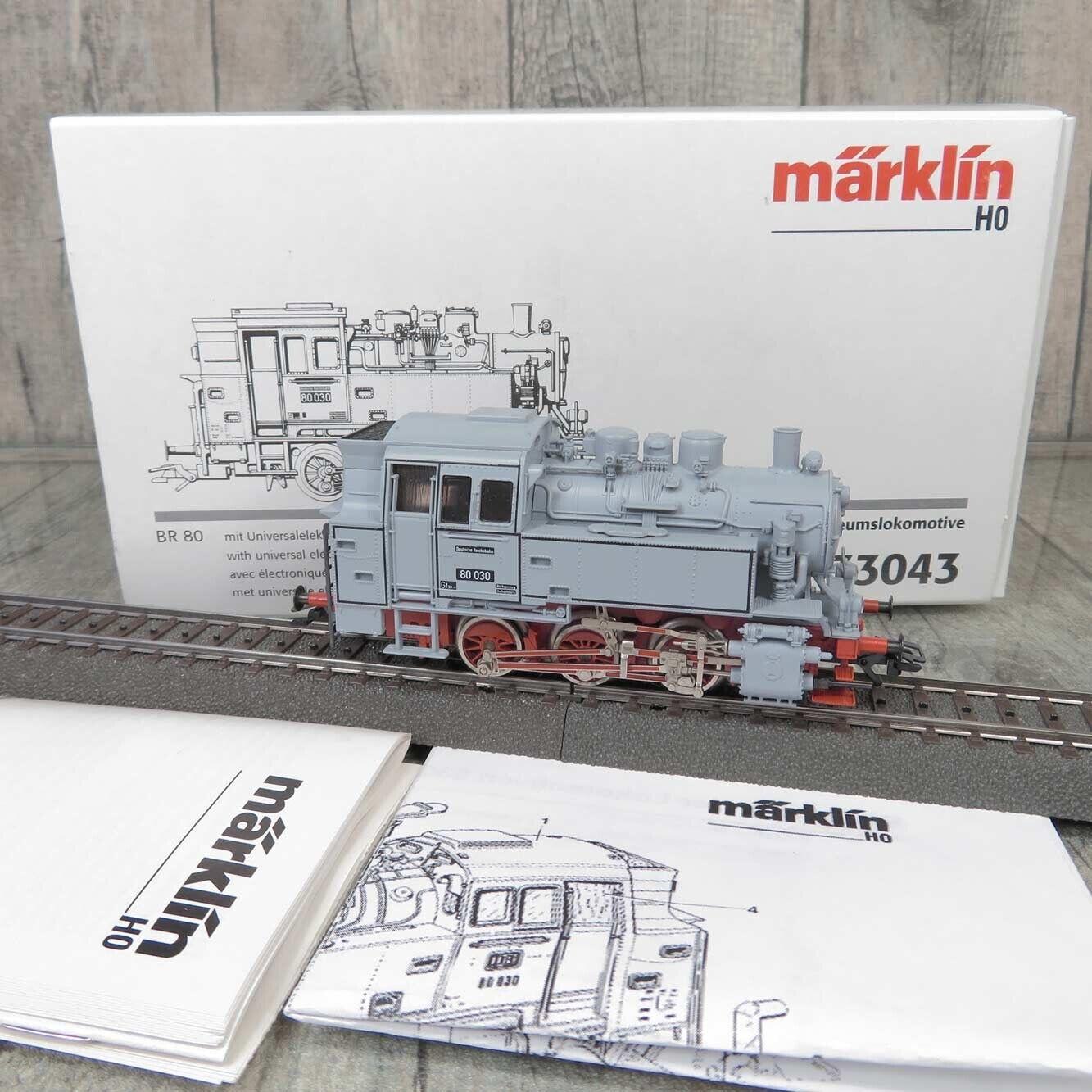 MÄRKLIN 33043 - H0 - DR - Museumslokomotive 80 030 - DIGITAL -  OVP -  L20366