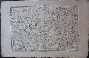 .carte De La Perse De La Georgie Et De La Tartarie Independante. Bonne 1780