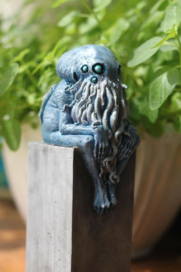 Cthulhu Mythos Young Baby Cthulhu Resin Statue Model Figure Figure Figure Two colors cc2a32