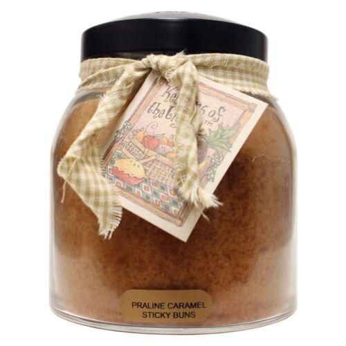 A Cheerful Giver Praline Caramel Sticky Buns 34 oz Papa Jar Candle JP41