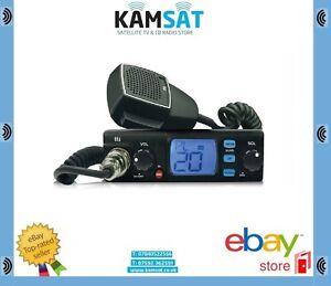 CB-Starte-Pack-Radio-560-CB-Antenne-80-Canaux-150-cm-AM-FM-UK-EU-12-24V-27-MHz