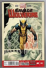 SAVAGE WOLVERINE #2 - FRANK CHO STORY, ART & COVER - MARVEL NOW! - 2013