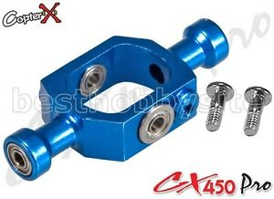 CopterX-CX450PRO-01-04-Metal-Flybar-Seesaw-Holder-Align-T-rex-Trex-450-SE-AE-PRO