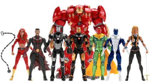 Hulkbuster Wave 7 figure BAF Marvel Legends Warmachine Strange Vision Ironman