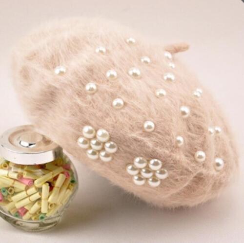 Fashion Women Beret Winter Warm Baggy Beanie Knitted Crochet Hat Slouch Ski Cap