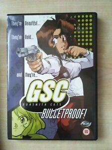 Gunsmith Cats: Bulletproof! Anime DVD (UK Region 2)