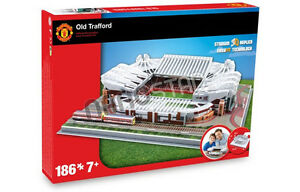Official Manchester United United United Old Trafford Stadium 3D Model Puzzle Utd 4be8ab