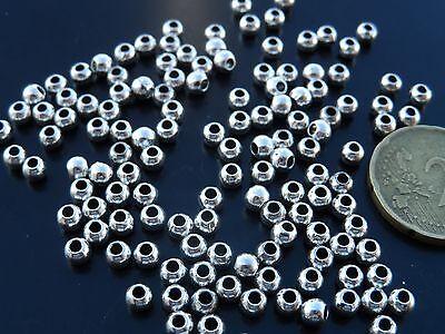 cuentas abalorios bisuteria bola De 20 a 1000 Bolas Zamak A.4,5mm B5-06