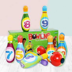 12Pcs-Kids-Colorful-Pins-Balls-Bowling-Game-Indoor-Sport-Development-Toy-Gift