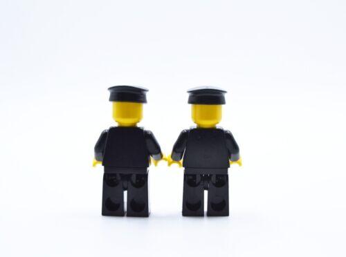 LEGO 2 x Figur Minifigur Polizei cop015 police man aus Set 1066 6396 6390