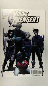 YOUNG-AVENGERS-6-1st-Printing-Cassie-Lang-Stature-2005-Marvel-Comics