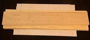 AIRBUS A320 Laser Cut Short Kit & Plans 59 in  wingspan