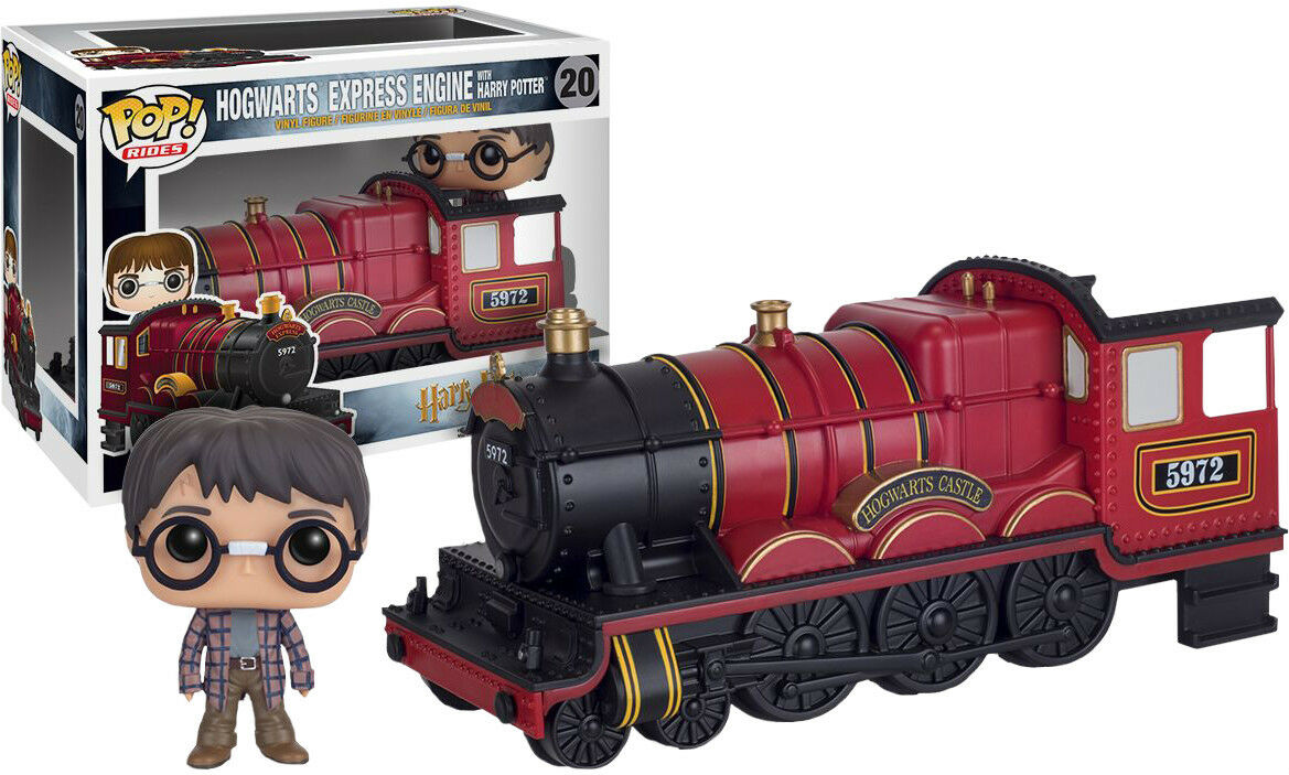 FUNKO POP VINYL RIDES HARRY POTTER HOGWARTS EXPRESS ENGINE RIDE WITH HARRY