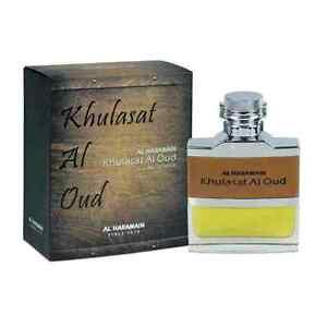 Khulasat al Oudh  Spray 100ml  - Woody, Citrus, Leathery, Smoky by Al Haramain
