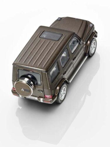 MERCEDES-BENZ MODELLO DI AUTO G-classe w463 g500 citrinbraun Marrone Magno 1:43 ORIGIN