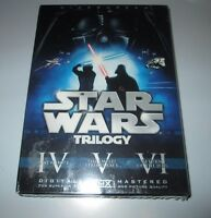 Star Wars Trilogy 6 Dvd Box Set Sealed 2008 Widescreen