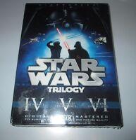 Star Wars Trilogy 6 Dvd Box Set Sealed 2008 Widescreen
