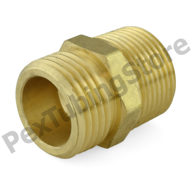 Union Anderson Metals Brass Hose Fitting 5//16 x 5//16 Barb