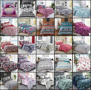 Paisley Mandala Duvet Cover With Pillow Case Quilt Cover Bedding Set