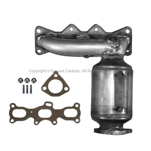 2001-2002 MAZDA Millenia 2.5L Radiator Side Catalytic Converter with Gaskets