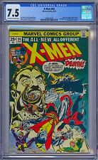 X-MEN #94 - CGC 7.5 OW-W - VF- New Team Begins 1975