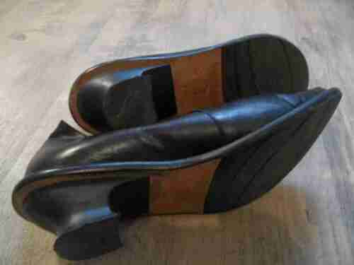 Absatz 39 Schwarz Shoe Mokassins In Stylische Colour Kd117 Gr Top Made M Italy nvFT0q