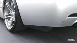 Rear Carbon Fiber Bumper Splitter extension Fits BMW E90 E92 F30 F80 335i M3 M4