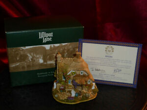 LILLIPUT-LANE-Little-Bee-L2317-Ornamental-House-Boxed-with-deeds-1998-Vintage