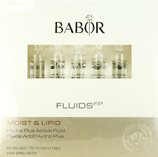 Babor Moist Lipid Hydra Plus Active Fluid 7 Ampoules X 2ml Each  BRAND NEW