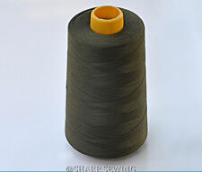 1 SPOOL CAMEL TAN 100/%  POLYESTER SERGER QUILTING THREAD T27 6000 YARDS #853