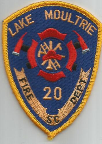 """fire patch Lake Moultrie South Carolina 3/"""" x 4/"""" size"""