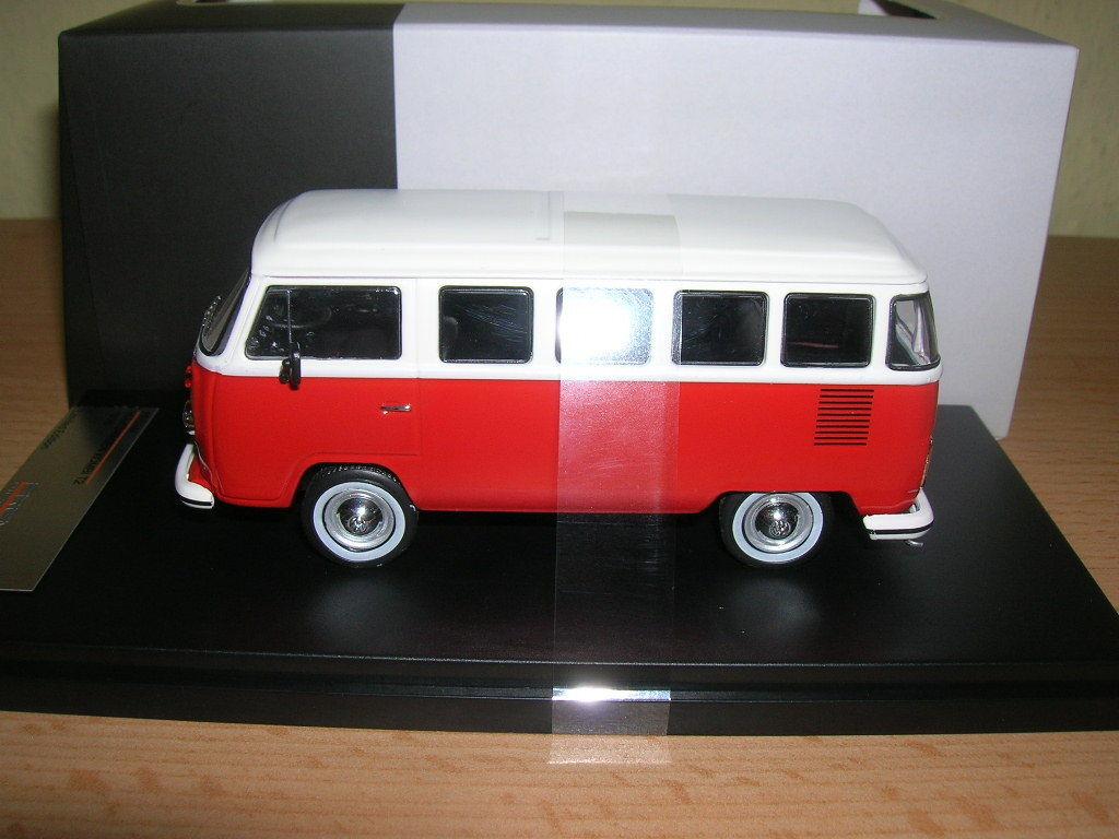 Premium x 1976 Volkswagen VW Familiare T2 red red,1 43 PRD344 Edizione