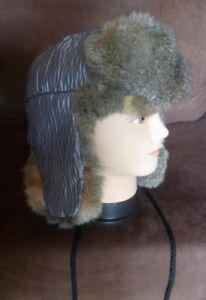 New Zealand Possum Natural Brown Outside Fur Man/'s Bush Hat