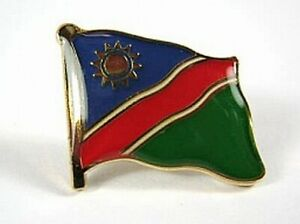 Namibia-Flaggen-Pin-Anstecker-1-5-cm-Neu-mit-Druckverschluss