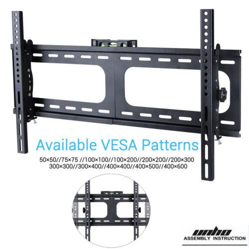 LCD LED TV Wall Mount 37 40 42 46 47 50 55 60 63 65 70 Inch /& More Tilt Bracket