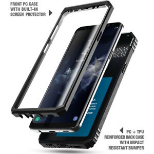 For-Galaxy-S9-S9-Plus-TPU-Case-Poetic-Revolution-Built-in-Screen-Protector-Cover
