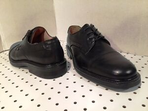 Sz.13 Bostonian Men's Wenham Lace Up Leather Oxford Dress Shoes Black