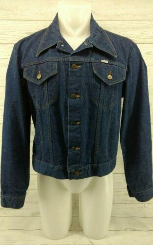 Vintage Sedgefield Blue Denim Button Up Jean Jacke