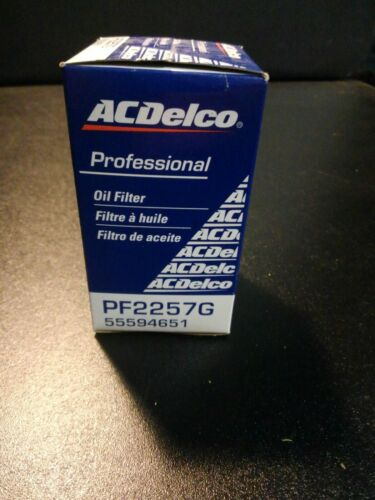 Engine Oil Filter ACDelco Pro PF2257G