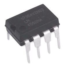 2PCS National Semiconductor LM4562NA LM4562 4562 Dual OpAmp DIP-8 - New IC