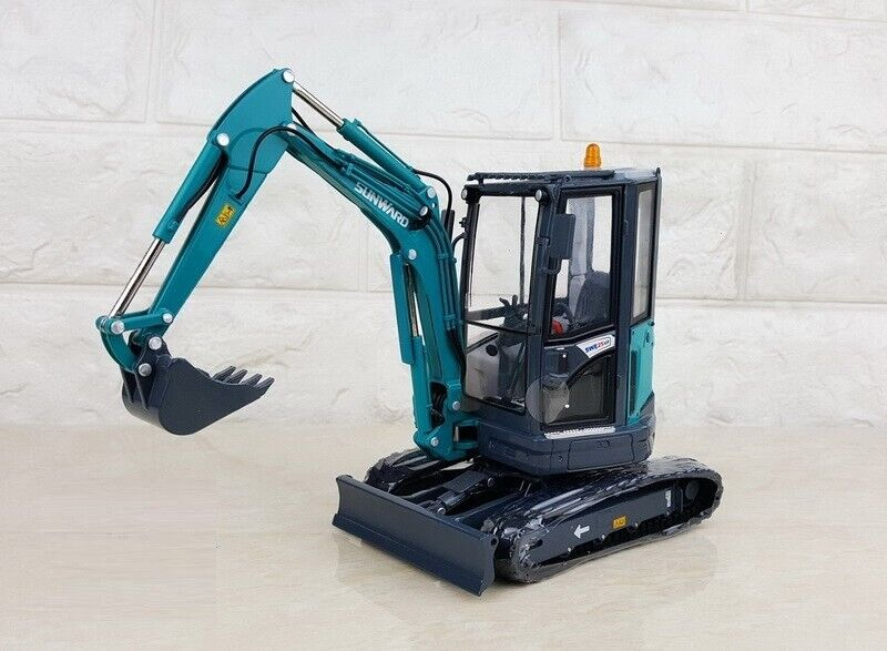1 20 SUNWARD SWE25UF Ultra Small Round Excavator Vehicles Diecast Toy Model Gift