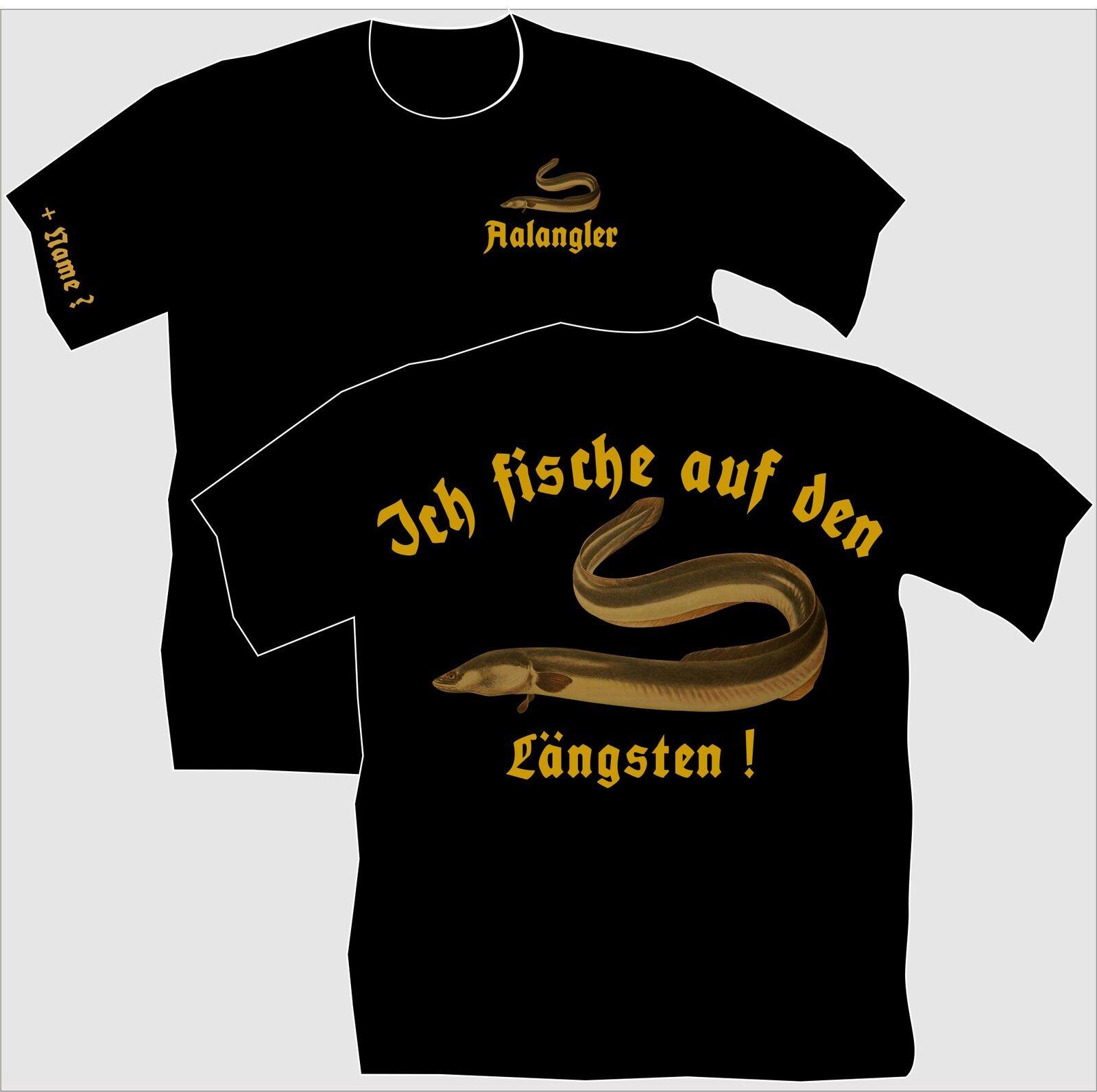 Anglershirt Angler T-Shirt Aalangeln Aalfang Aalköder Aalköder Aalköder Aal Angeln Sportangler 51  Ahorre 60% de descuento y envío rápido a todo el mundo.