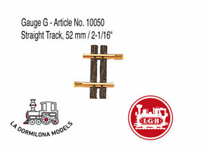 "Utile Lgb Gauge G - Article No. 10050 Straight Track, 52 Mm / 2-1/16"" - New"
