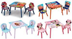 Choisissez De Personnage Disney Table Et Chaises Minnie
