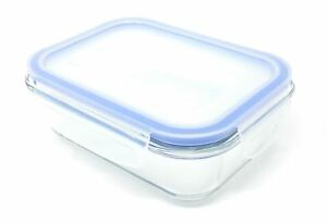2-X-FREEZER-TO-OVEN-SAFE-350ML-GLASS-STORAGE-CONTAINER-WITH-BPA-FREE-CLIP-LID