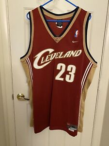 Details about Nike Lebron James Rookie Away Cleveland Cavaliers Swingman Jersey Mens Size XL