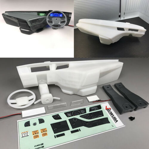 Internal Left Right Cab Console for Tamiya 1//14  FH16 750 56360 RC Truck