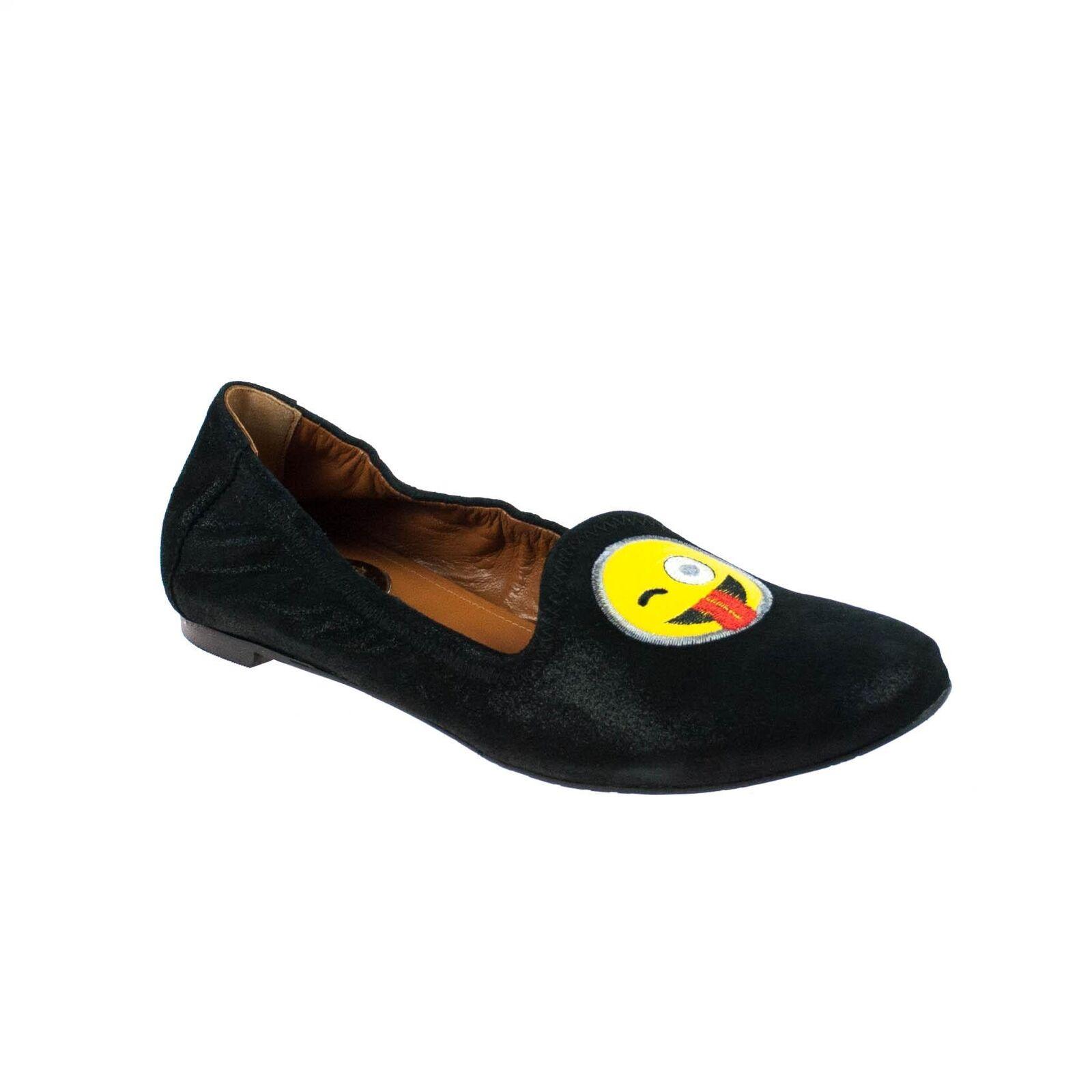 Ras Donna Mezza scarpa camoscio nero