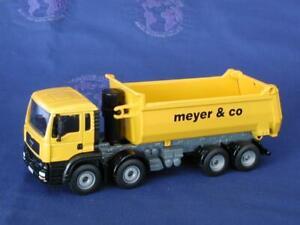 Siku-3524-MAN-4-Axle-Halfpipe-Dump-Truck-MEYER-W-Germany-1-55-MIB